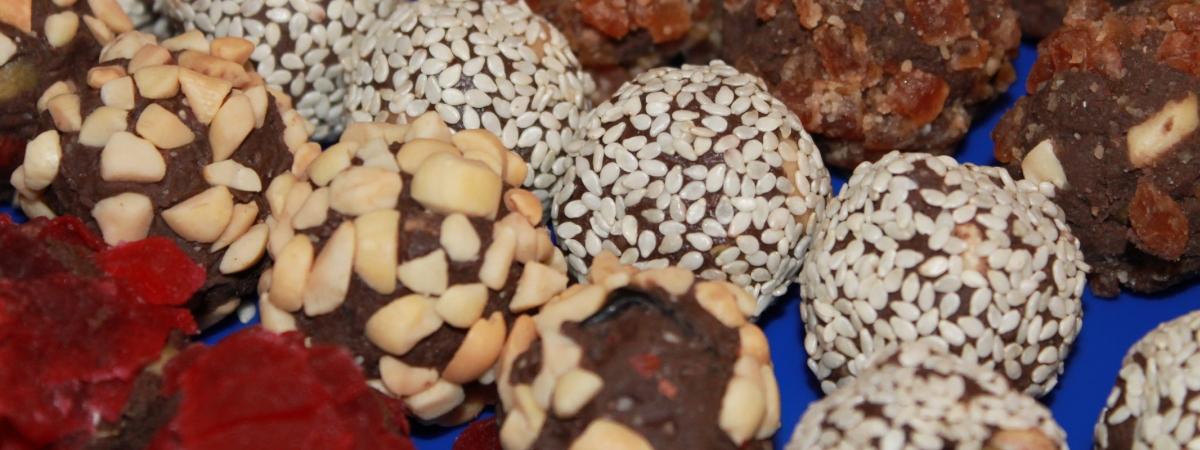 шарики с орехами оптом от производителя